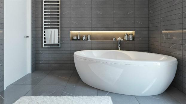 Дизайн ванной с стиле минимализм