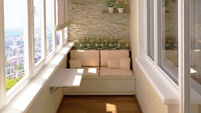 Отделка и ремонт балкона
