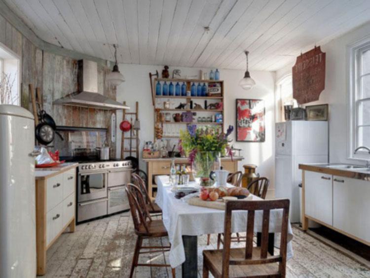 Кухня в стиле Shabby chic.